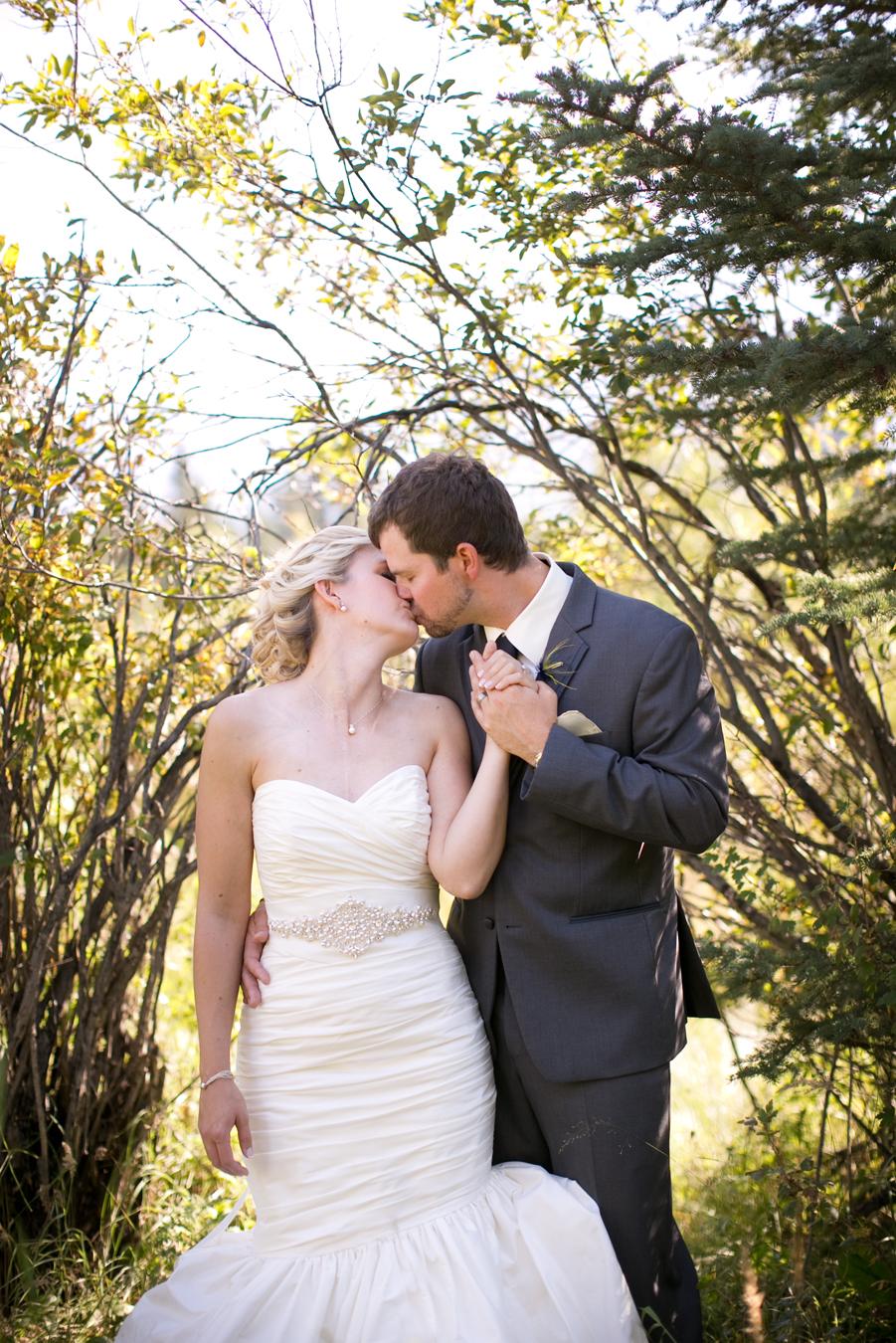 megan amp ryan married canmore silvertip wedding