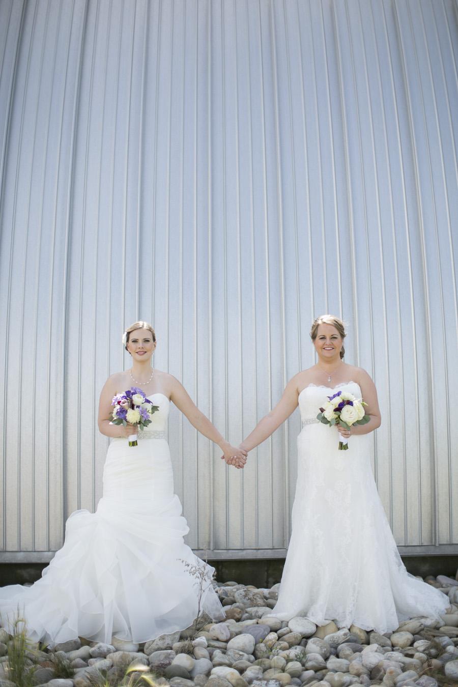 Calgary gay wedding