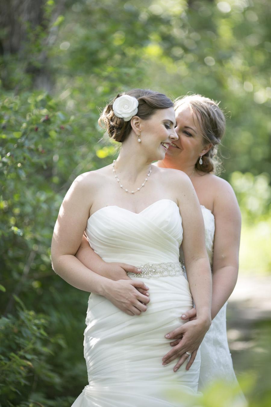 Jenn & Elise -married! {Calgary same-sex wedding photographer} - Modern Photography - Canmore