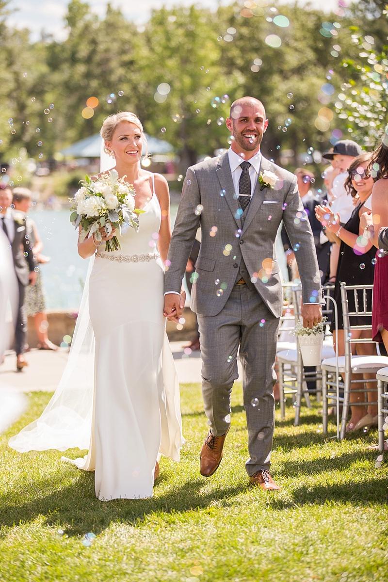 Morgan & Kellen | Calgary Baker Park Wedding