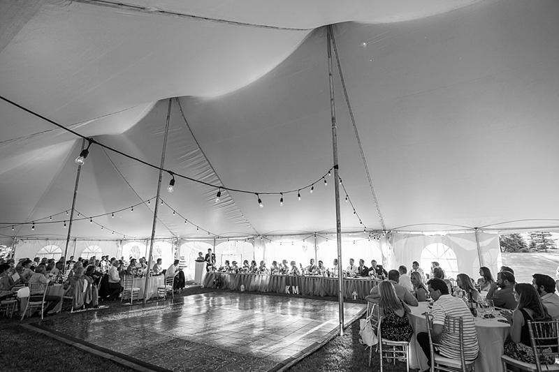 calgary tent wedding