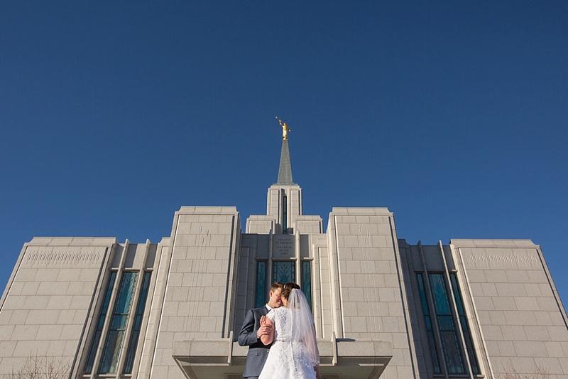 Keishja & Brandon | Calgary LDS Mormon Temple Wedding